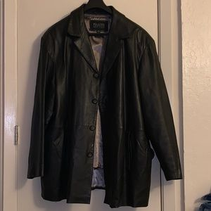 Leather Coat for Mens